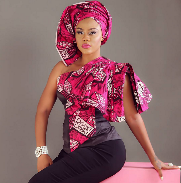 Nollywood actress Daniella okeke