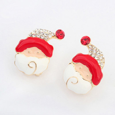 Aksesoris: Anting Santa Claus (AHG-392)