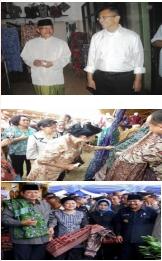 Kunjungan SBY pada Batik Tulis Gedog HM. Sholeh Tuban, Batik Tulis Gedog Kerek