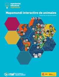 Mapamundi interactivo de animales. Chroma key en Educación Infantil