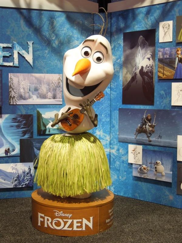 Disney Frozen hula Snowman