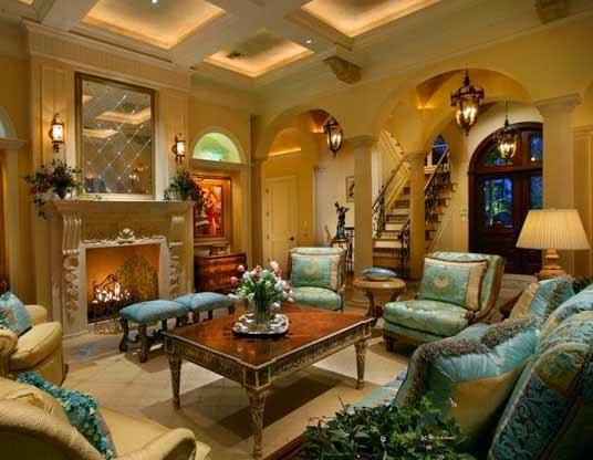 ruang keluarga klasik