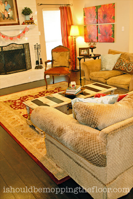 area rug placement ideas