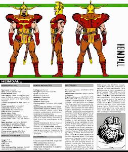 Ficha Heimdall Comics