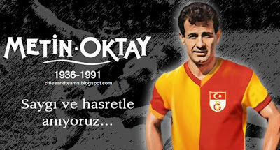 Metin Oktay The Legend Footballer Of Galatasaray Hd Wallpaper