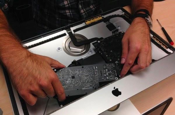 моноблок iMac разобран
