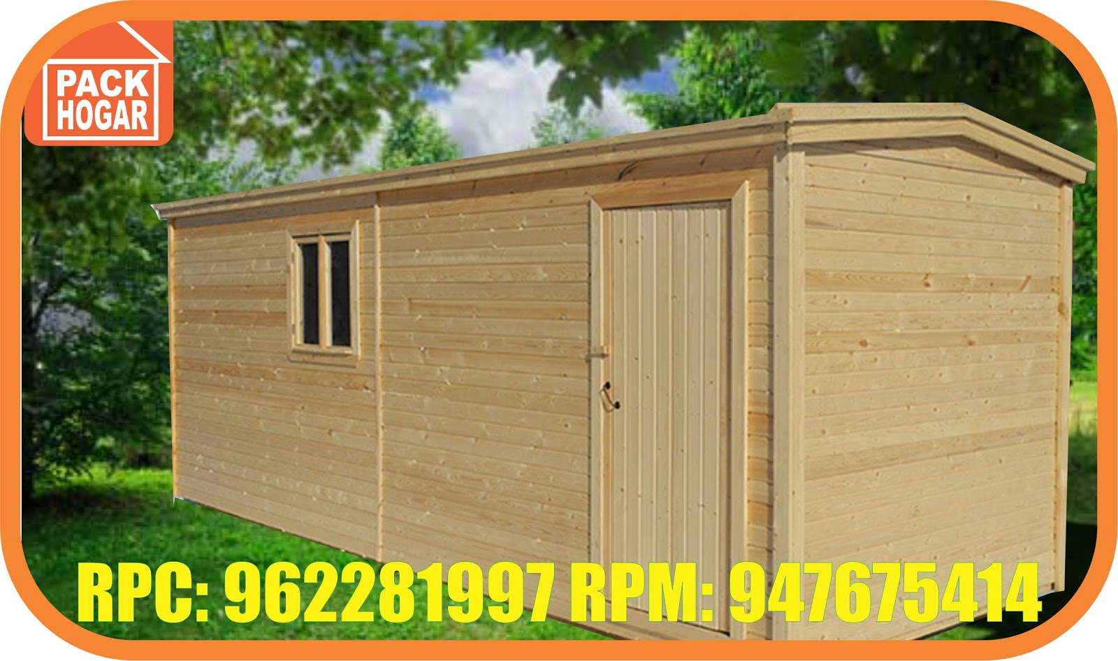 Miraflores cuartos casetas m dulos prefabricadas azotea - Refugios de madera prefabricados ...