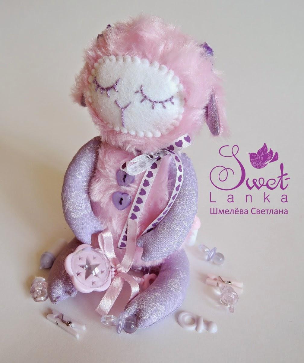 символ 2015 года игрушка овечка овца
