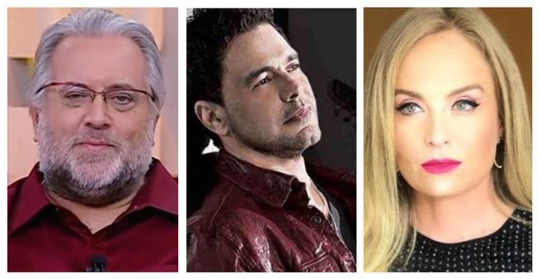 Leão Lobo abre o jogo sobre polêmica do romance entre Angélica e Zezé Di Camargo