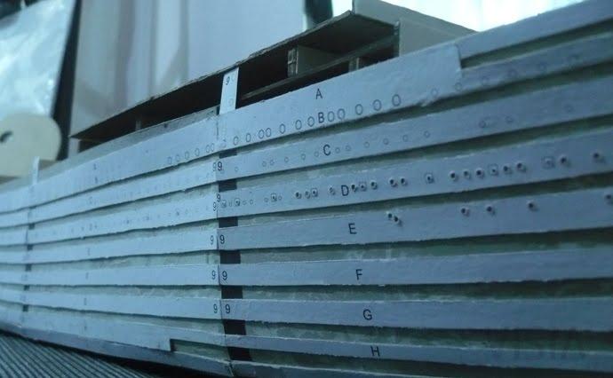 Perforación de ventanas (estribor)