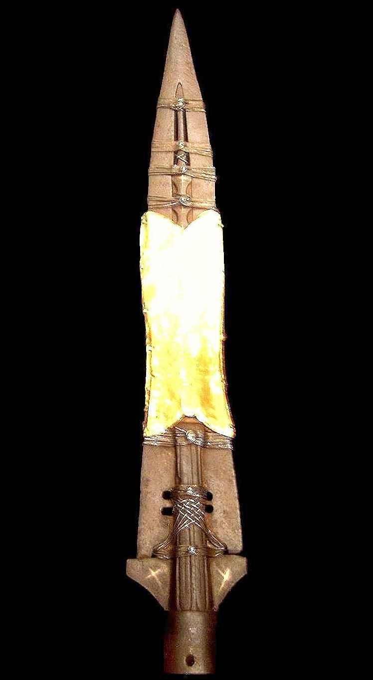 A Sagrada Lança está conservada na Sainte Chapelle de Paris