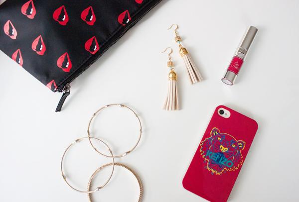 Five minute DIY tassel earrings