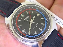 SEIKO NAVIGATOR TIMER - GMT - AUTOMATIC 6117 6410