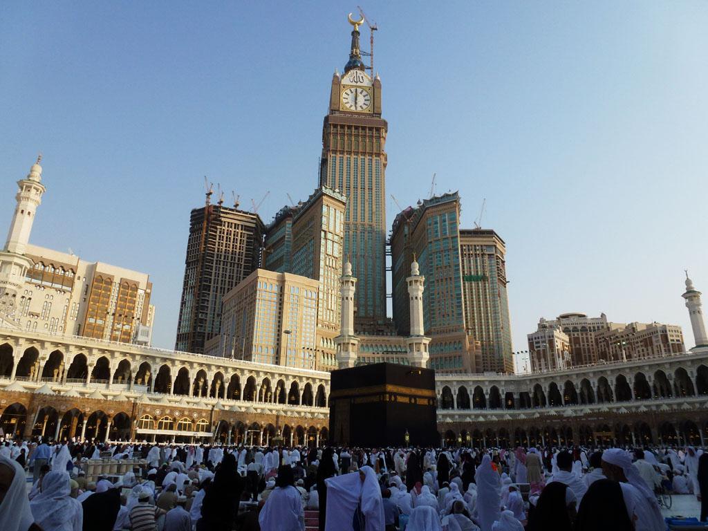 craziest architecture abraj al bait towers mecca images