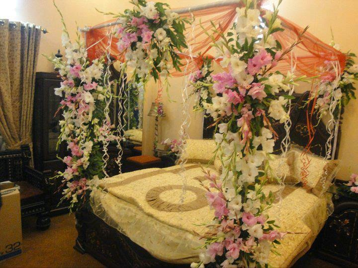 Bangladeshi wedding bed wedding snaps for Bedroom decoration in bangladesh