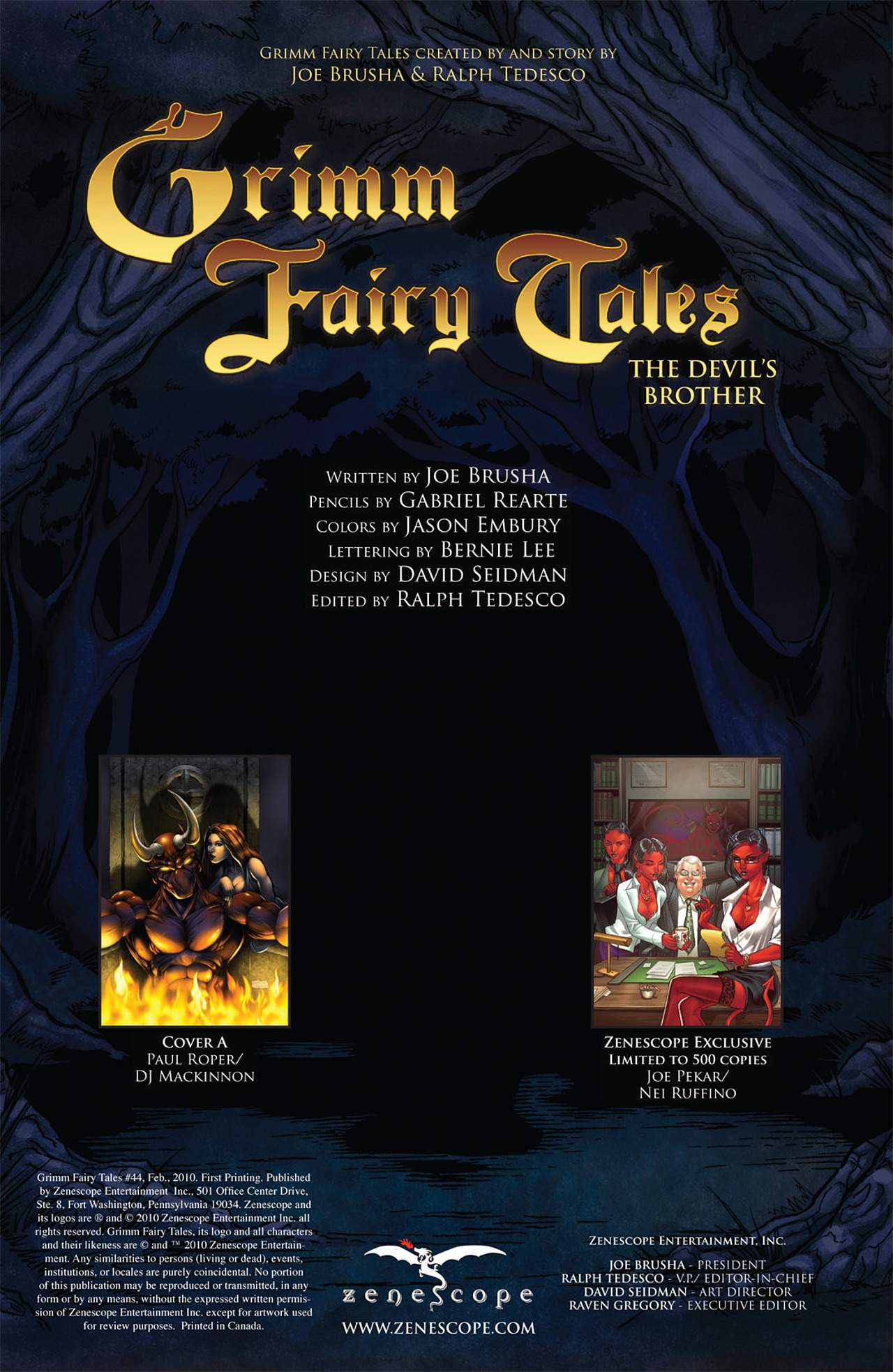 Grimm Fairy Tales (2005) Issue #44 #47 - English 2