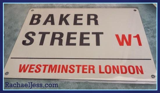 My Geek Box - Baker Street Sign