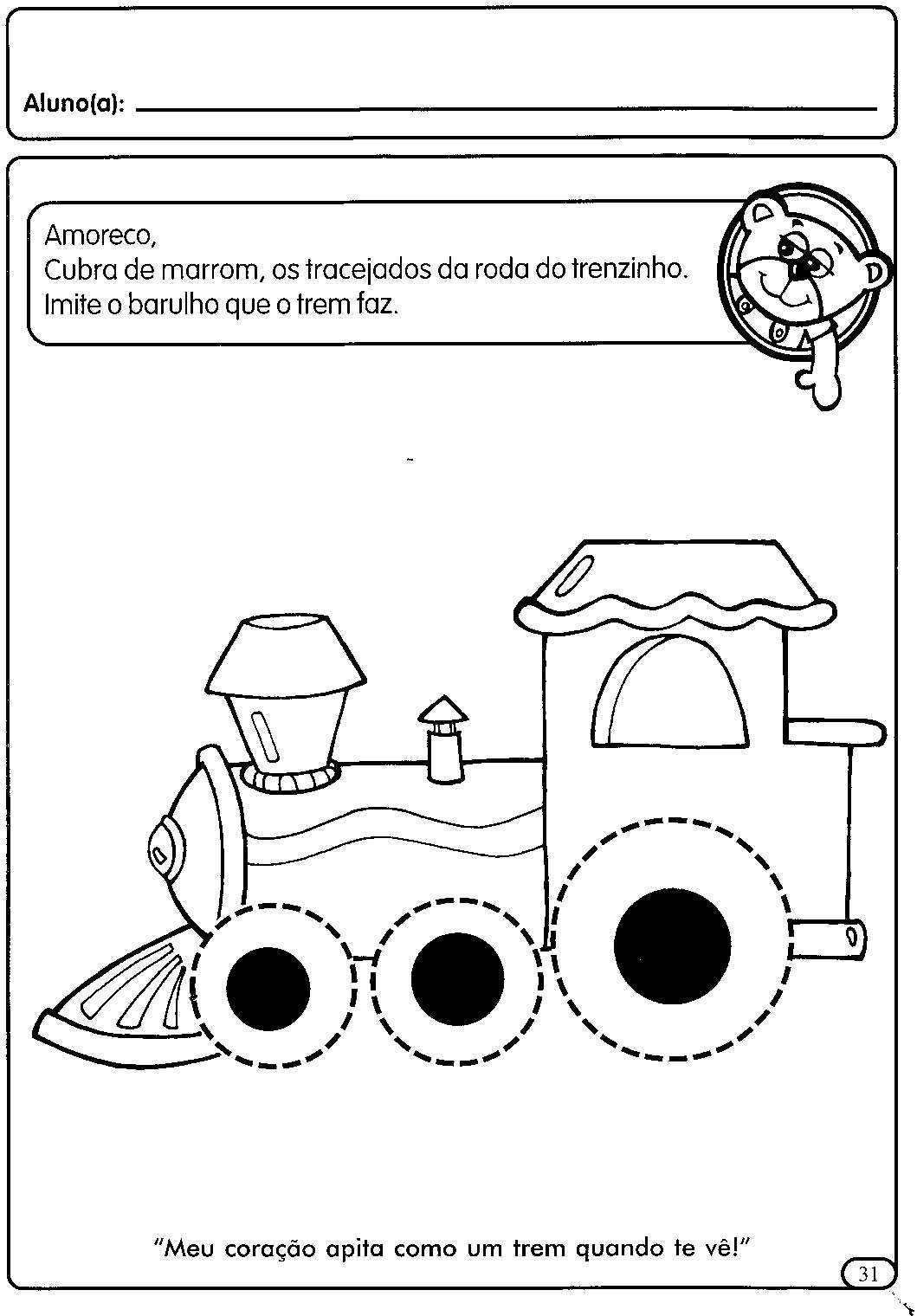 Muitas vezes ATIVIDADES COM TRACEJADO PARA MATERNAL   Cantinho do Educador Infantil HD47