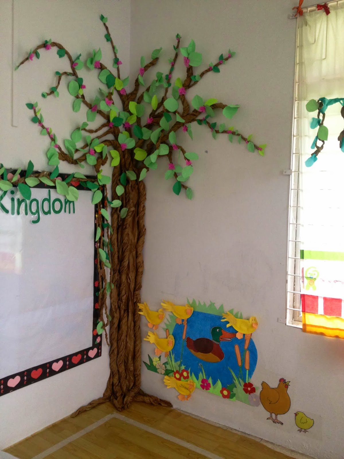 Classroom Decoration Forest ~ Plant kingdom garden themed classroom its fun to be a