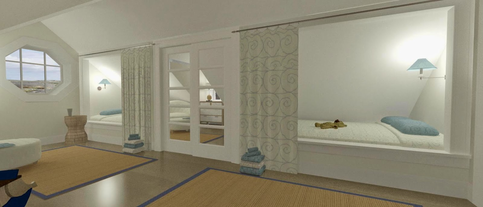 Den vita drömgården: ett fritidshus i new england stil