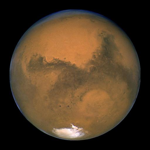Foto de Marte por el Hubble