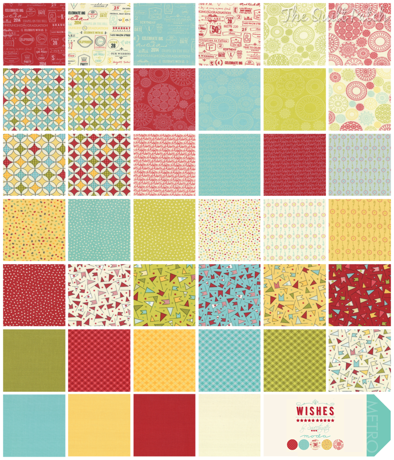 Moda Wishes - Sweetwater -  The Quilt Patch