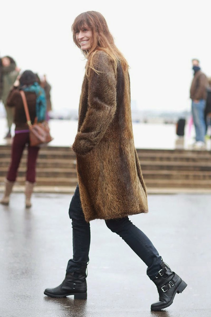 Streetstyle at Paris Haute Couture Fashion Week Spring summer 2015