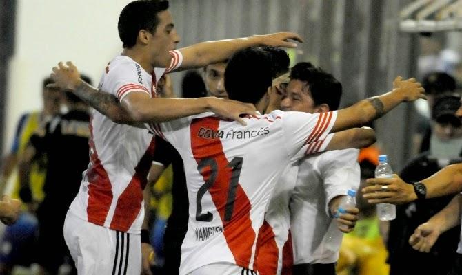 Jugadores de River, River, River Plate, Gallardo, Mamá, enferma, Rafaela, Torneo Transición, 2014