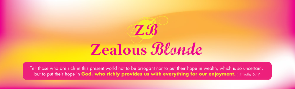 Zealous Blonde