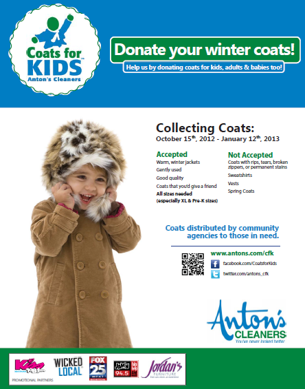 Coats For Kids Massachusetts