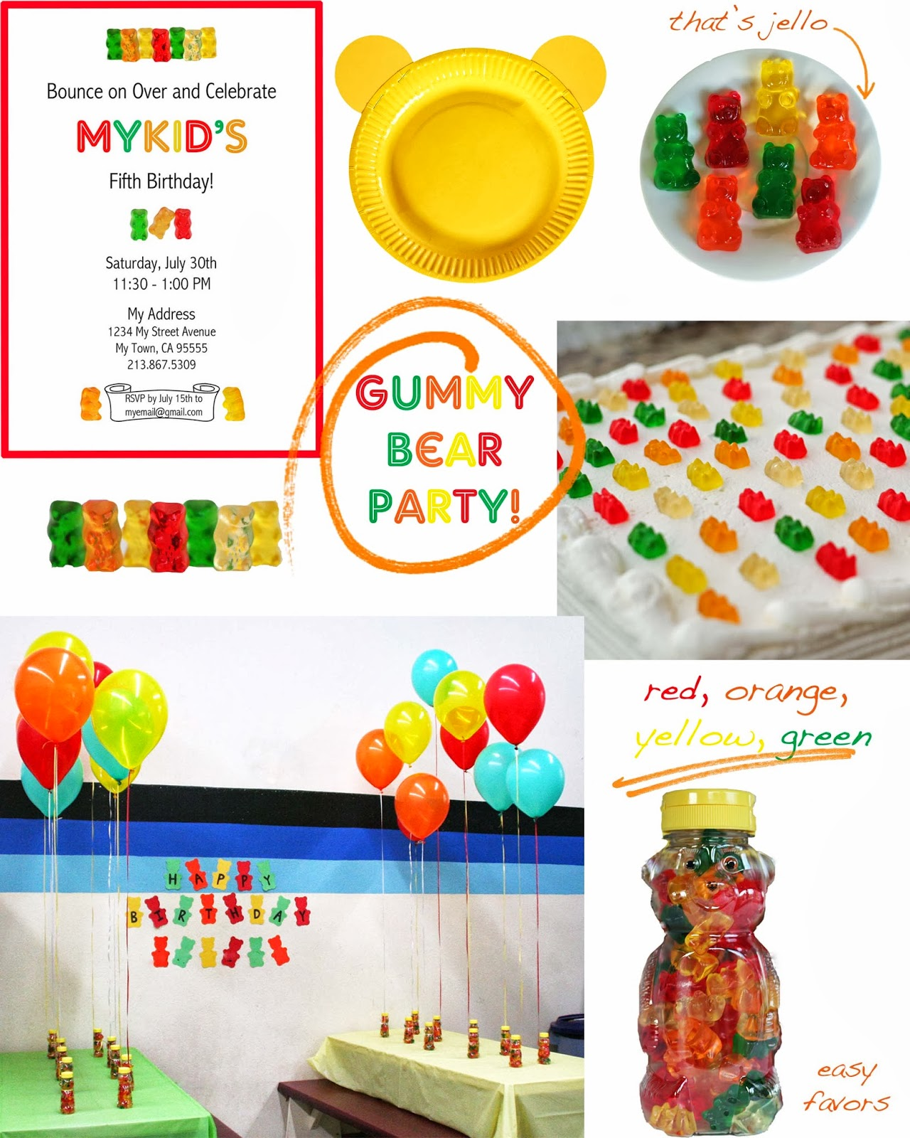 Party Gummy Bears