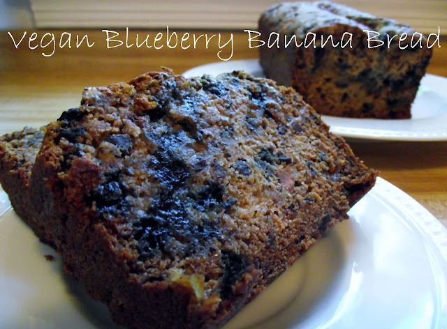 vegan+blueberry+banana+bread Vegan Blueberry Banana Bread