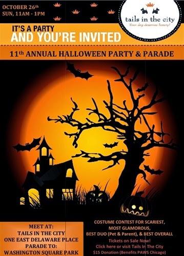 Halloween Pet Parade Chicago