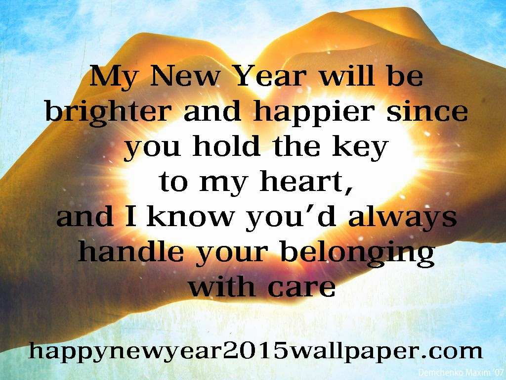 i love you new year greeting cards