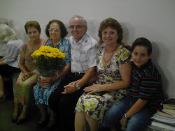 Aniversário de 90 anos de minha amada mãe