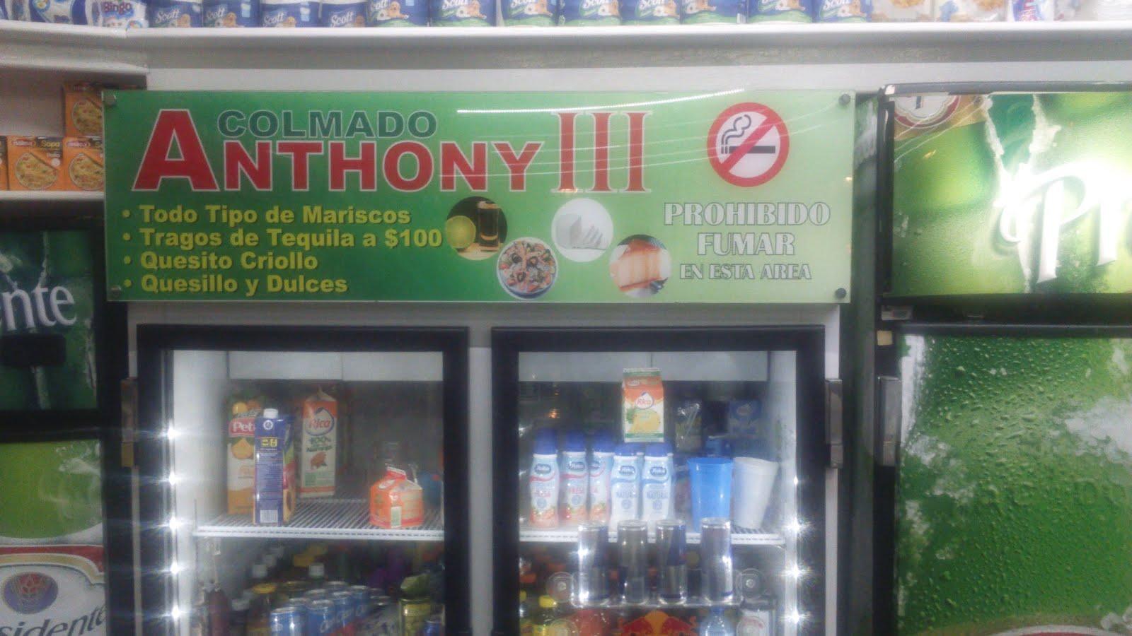 Colmado y Cafetería Anthony III
