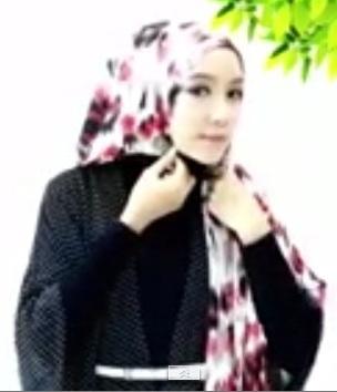 tutorial hijab hari raya1