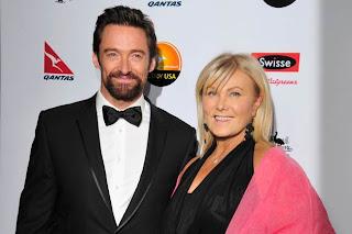Hugh Jackman Wife Deborra-Lee Furness 2013