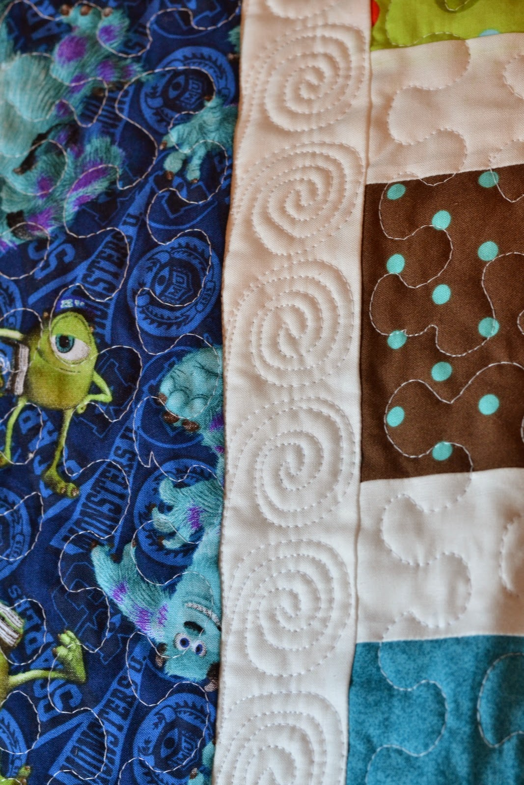 Angel scraps quilting finish it up friday jake 39 s quilt for Jake quilted bedding