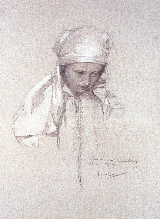 Alphonse Maria Mucha 1860-1939 | Czech Art Nouveau Printmaker