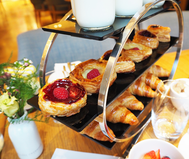 Selfridges pastries and breakfast