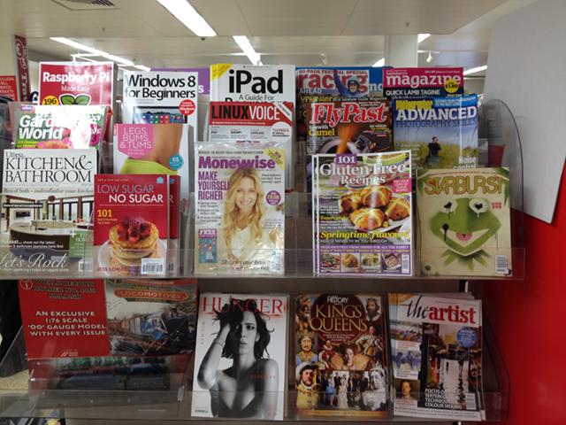 Starburst magazine pops on the newsstand