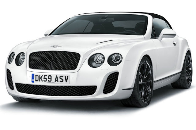 2011 Bentley Continental Supersports Convertible Front Exterior