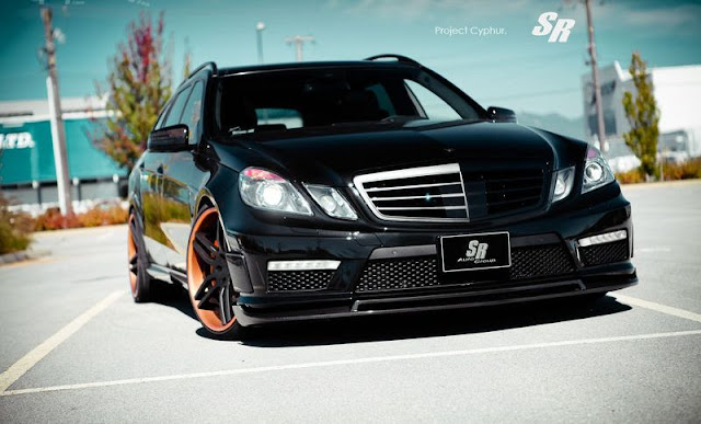 "Mercedes-Benz E63 AMG ""Project Cyphur"" by SR Auto Group gassguzzler"