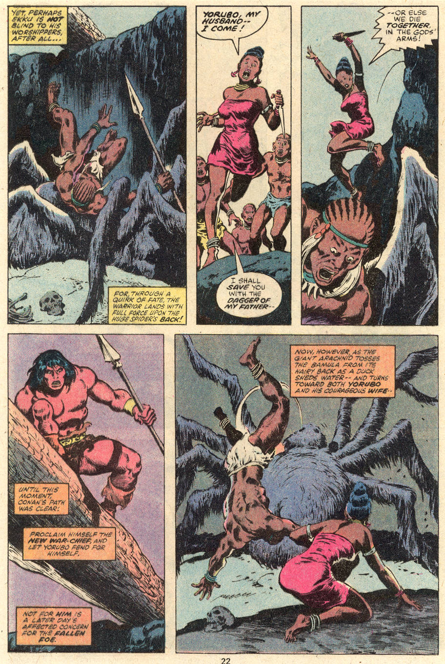Conan the Barbarian (1970) Issue #101 #113 - English 13