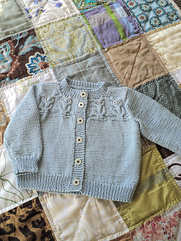 Free Knitting Pattern For Owl Sweater : knitting for a future king - Knitionary