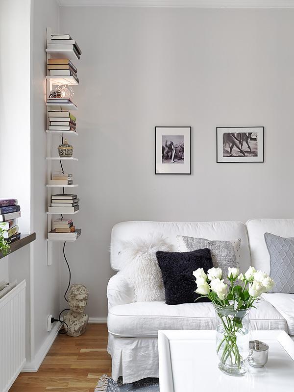Boho deco chic ideas low cost y almacenaje de un piso sueco - Amueblar piso low cost ...