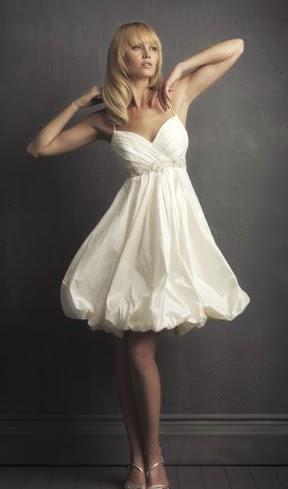 Vestidos Blancos de Coctel