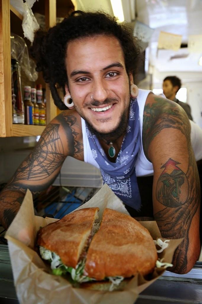 Guero, food carts, Portland, torta