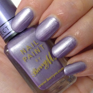 Barry M Lilac Foil Nail Polish Swatch